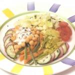 Salada de grão-de-bico – Receita para Diabéticos